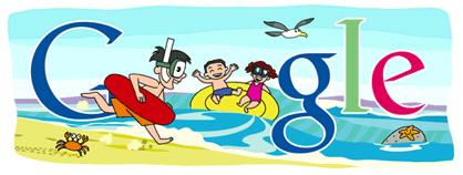 Google Logo: 2011 Marine Day - A Japanese national holiday
