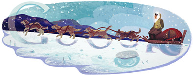 Google Logo: Naomi Uemura 70th Birthday - Japanese adventurer