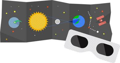 Google Logo: Annular Eclipse in Japan - 05/21/2012