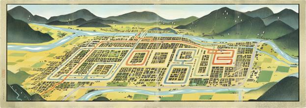 吉田初三郎 生誕 130 周年 - Hatsusaburo Yoshida's 130th Birthday : Japan