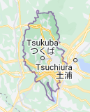 Map for Tsukuba Japan