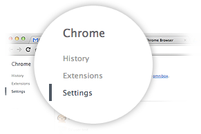 Google Chrome の設定