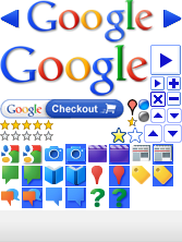 Googleの各アイコン