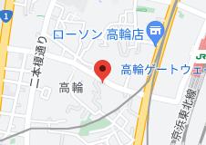 東芝山口記念会館の地図