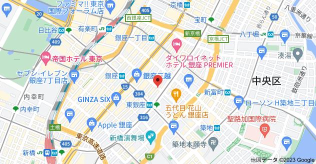 〒104-0061 東京都中央区銀座4丁目10−1の地図