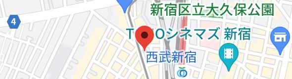 エススリー 新宿店の地図