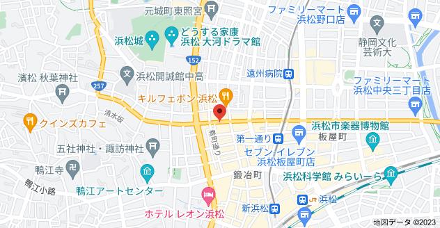 〒430-0944 静岡県浜松市中区田町315−20の地図