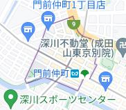 門前仲町の地図