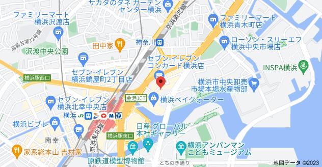 〒221-0056 神奈川県横浜市神奈川区金港町2−6の地図