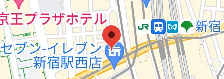 タイトワン新宿の地図