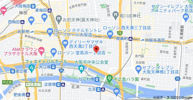 〒530-0047 大阪府大阪市北区西天満3丁目11−4の地図