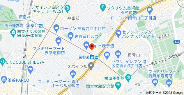 〒107-0061 東京都港区北青山3丁目5−29の地図