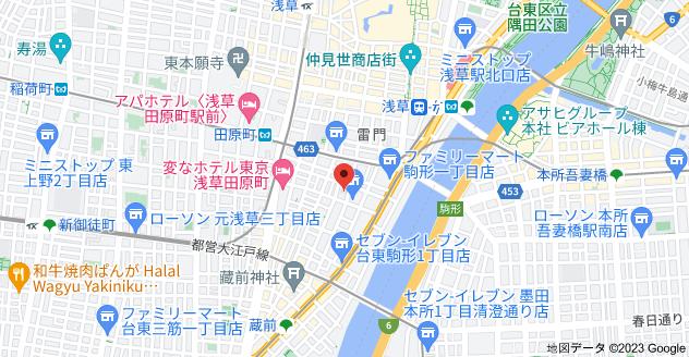 〒111-0042 東京都台東区寿4丁目1−11の地図
