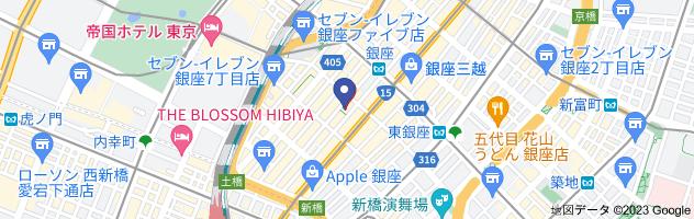 Dover Street Market GINZAの地図