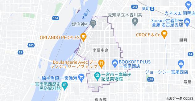〒494-0007 愛知県一宮市小信中島の地図