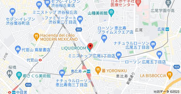 〒150-0011 東京都渋谷区東3丁目16−6の地図