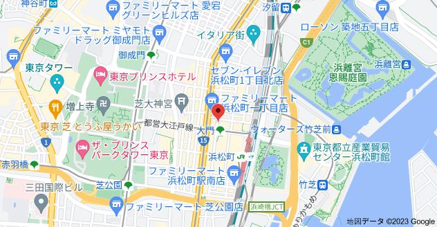 〒105-0013 東京都港区浜松町1丁目28−13の地図