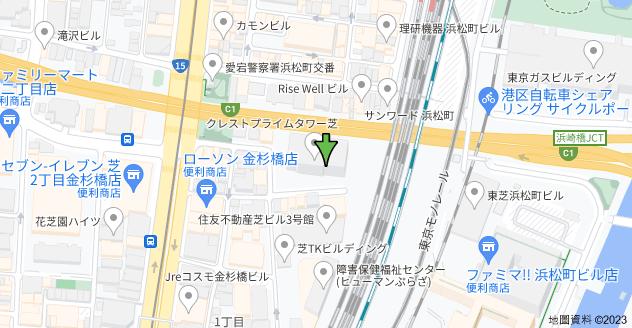 〒105-0014 Tōkyō-to, Minato-ku, Shiba, 1 Chome−2−1 クレストプライムタワー芝地圖