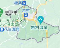 岩村町 Japanの地図