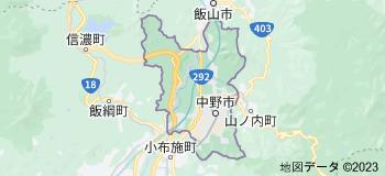 中野市 日本の地図