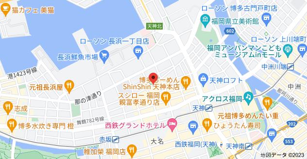 〒810-0073 福岡県福岡市中央区舞鶴1丁目8−25の地図
