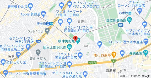 〒107-0062 東京都港区南青山6丁目1−6の地図