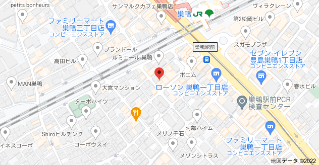 〒170-0002 東京都豊島区巣鴨1丁目27−1 日東ビルの地図