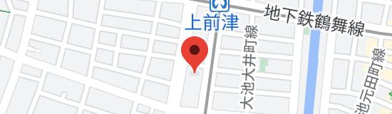 中部美容専門学校の地図
