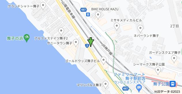 〒655-0046 兵庫県神戸市垂水区舞子台5丁目1 舞子延命地蔵の地図