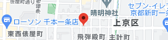 京都町家猫カフェ キャットアパートメントコーヒーの地図