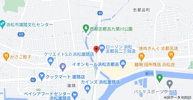 〒432-8069 静岡県浜松市西区志都呂2丁目33−5の地図