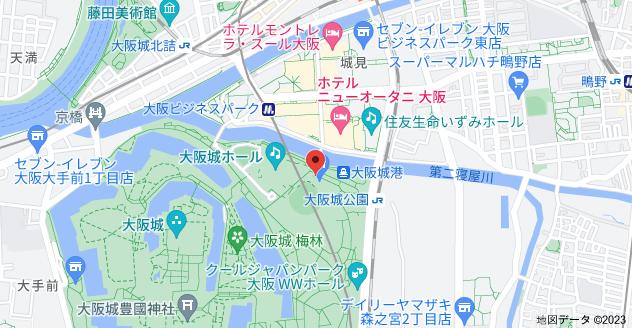 〒540-0002 大阪府大阪市中央区大阪城3−1の地図