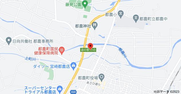 〒889-1201 宮崎県児湯郡都農町川北5129の地図