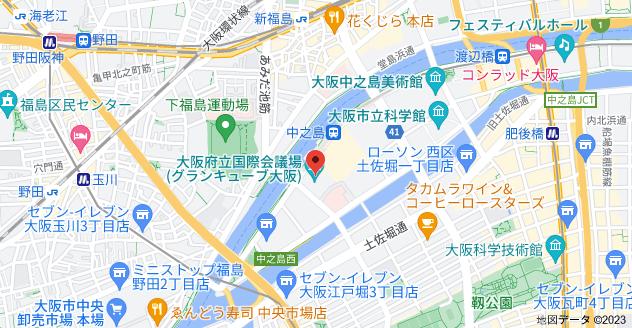 〒530-0005 大阪府大阪市北区中之島5丁目3−51の地図