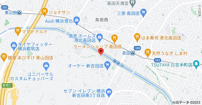 〒223-0058 神奈川県横浜市港北区新吉田東3丁目25−11の地図